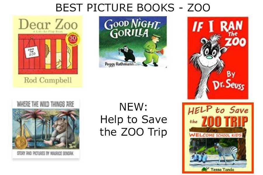 Best picture books about the zoo